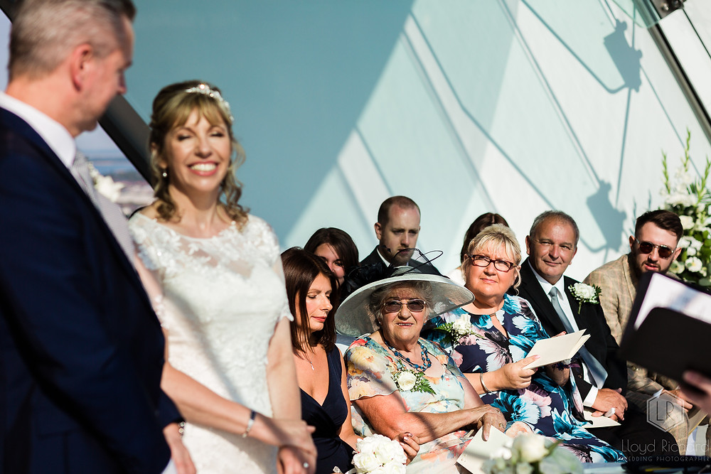 mother fo bride at spinnaker tower