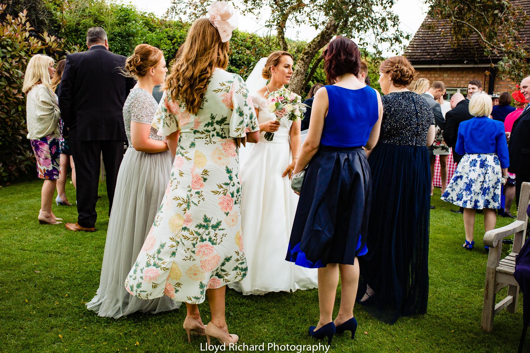 wedding reception at Pitt Hall Barn