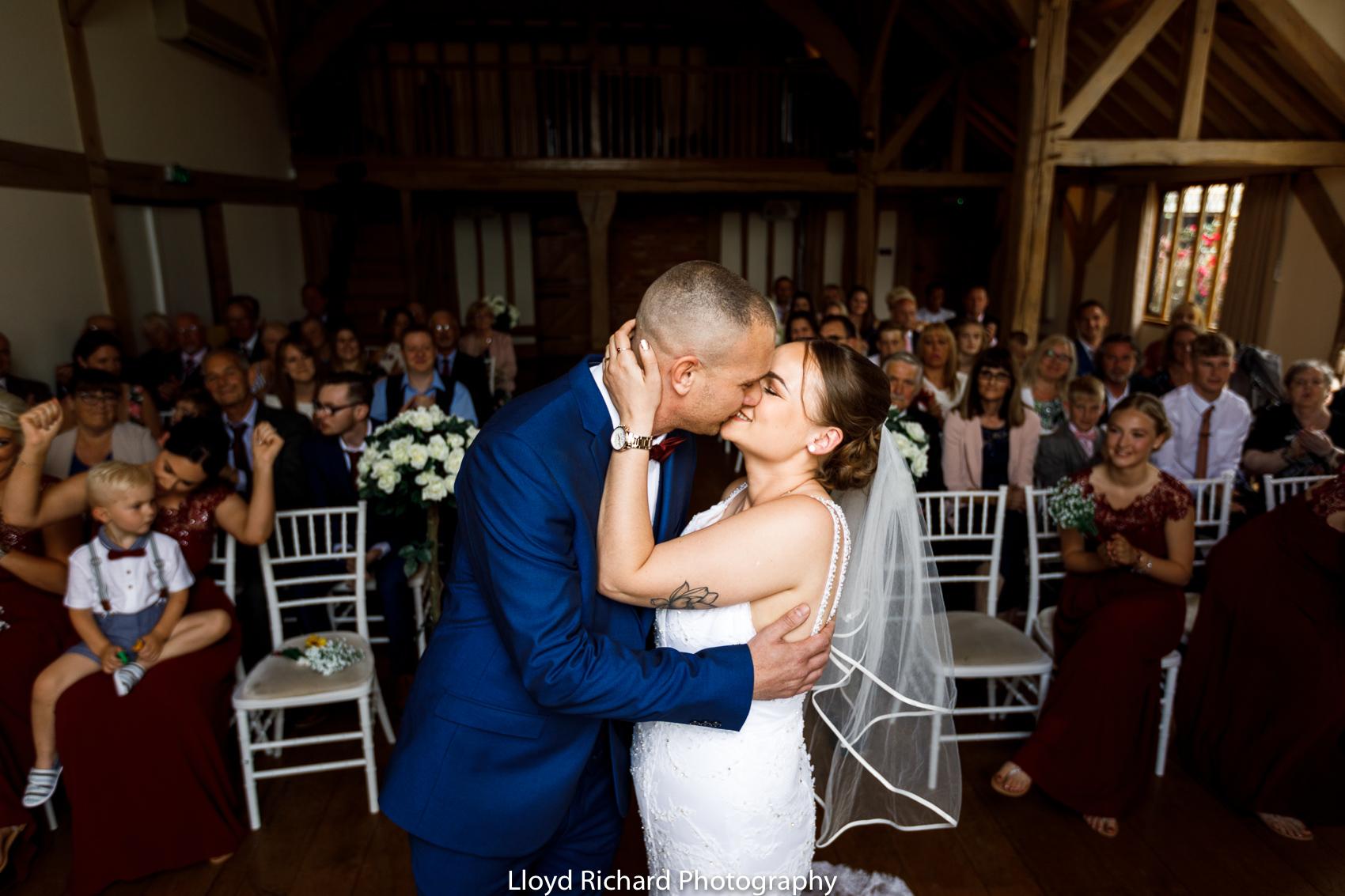 first kiss at Cain Manor