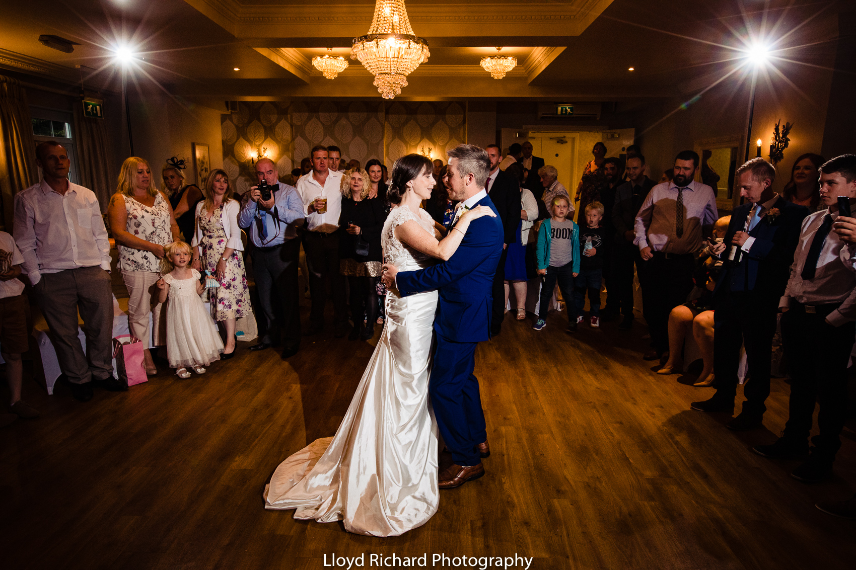 first dance at Moorhill House Hotel wedding