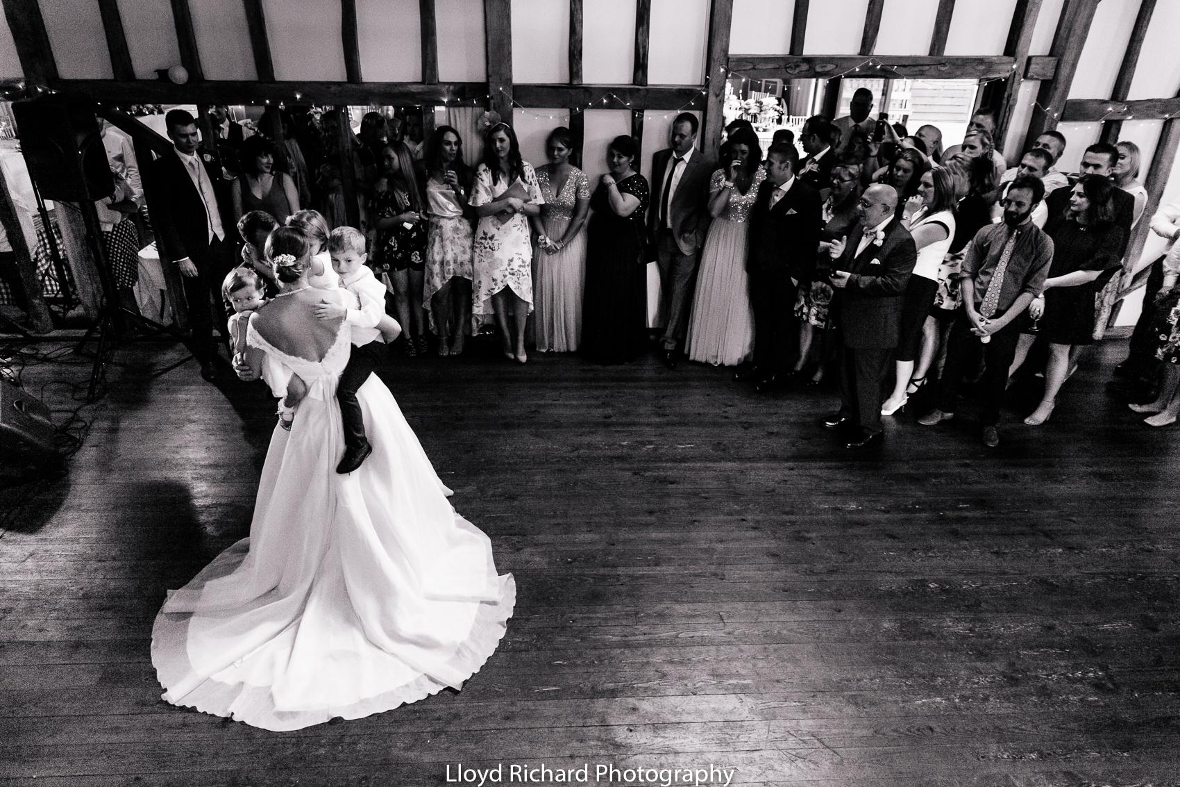 first dance at Pitt Hall Barn