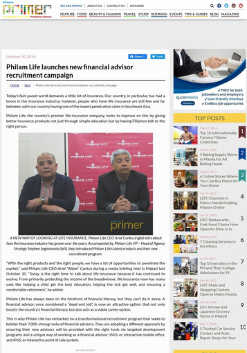 Media Exposure: Philam Life