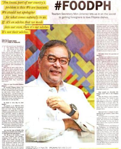 Media Exposure: Flavors of the Philippines