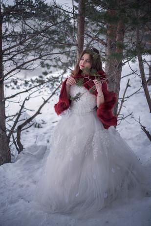 Princesa en la nieve