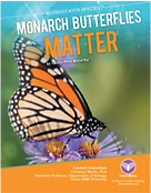Book Cover with monarch