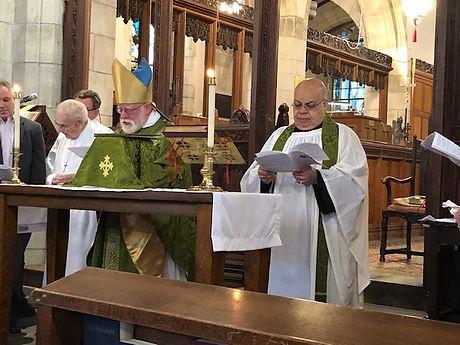 Bishop's visit Feb. 2020
