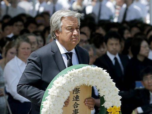 THE NAGASAKI TRAGEDY SHOULD MOTIVATE THE NATIONS TO ELIMINATE ALL NUCLEAR WEAPONS: UN CHIEF