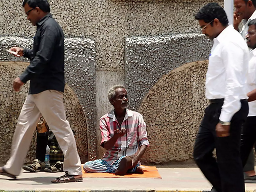 BOMBAY HC SEEKS GOVERMNENT RESPONSE TO PIL AGAINST BEGGING