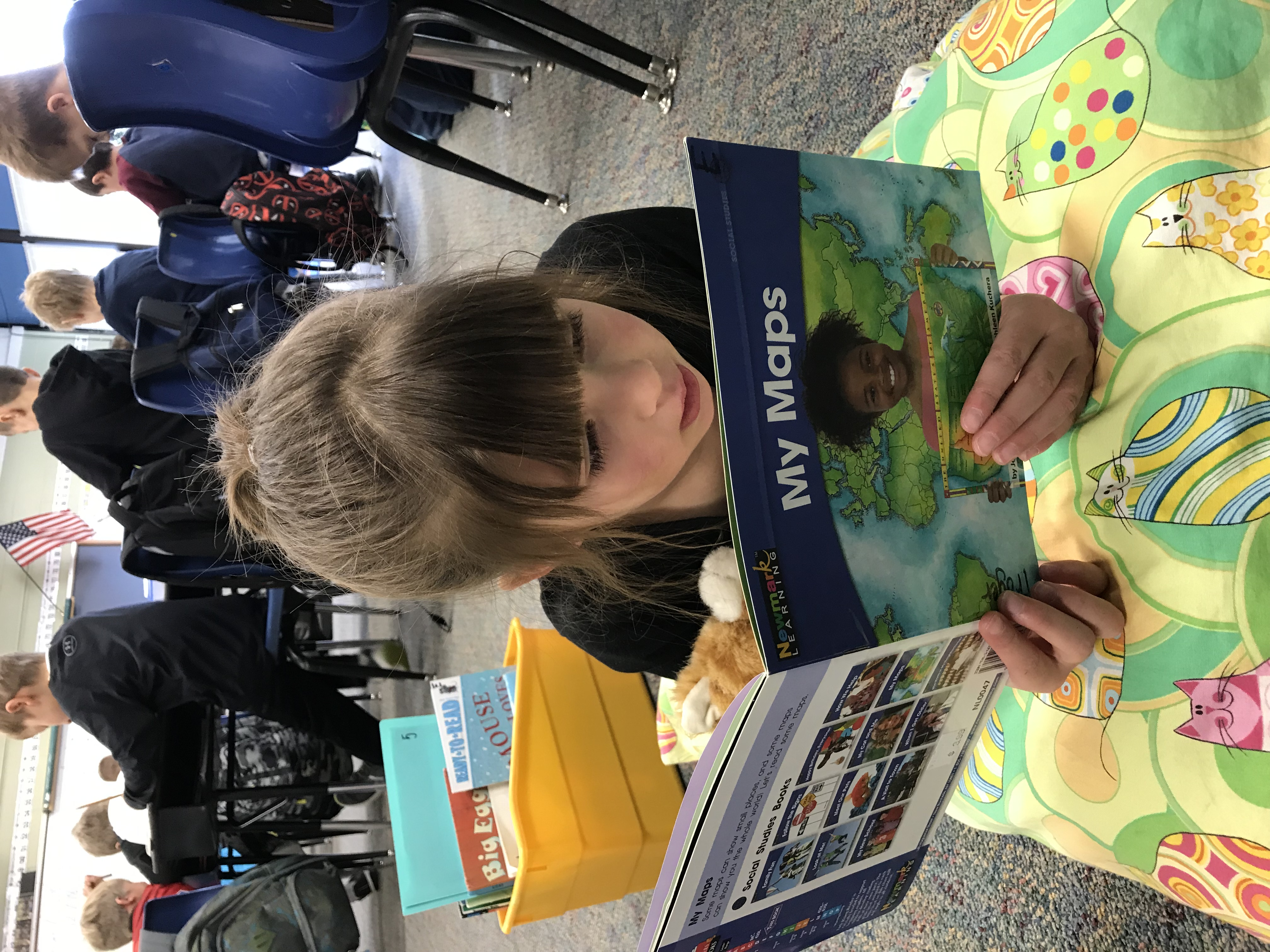 student reading 2018