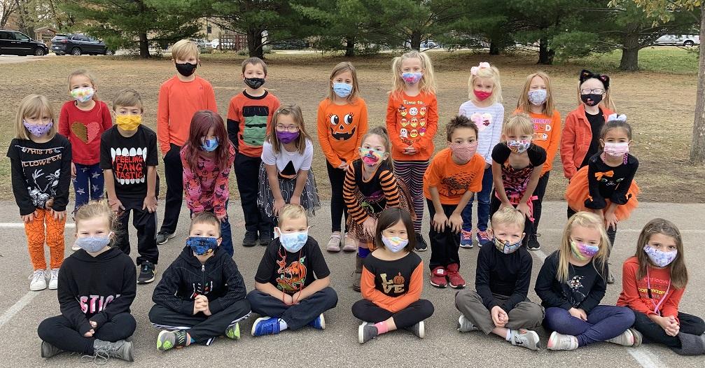 1st grade Halloween 2020