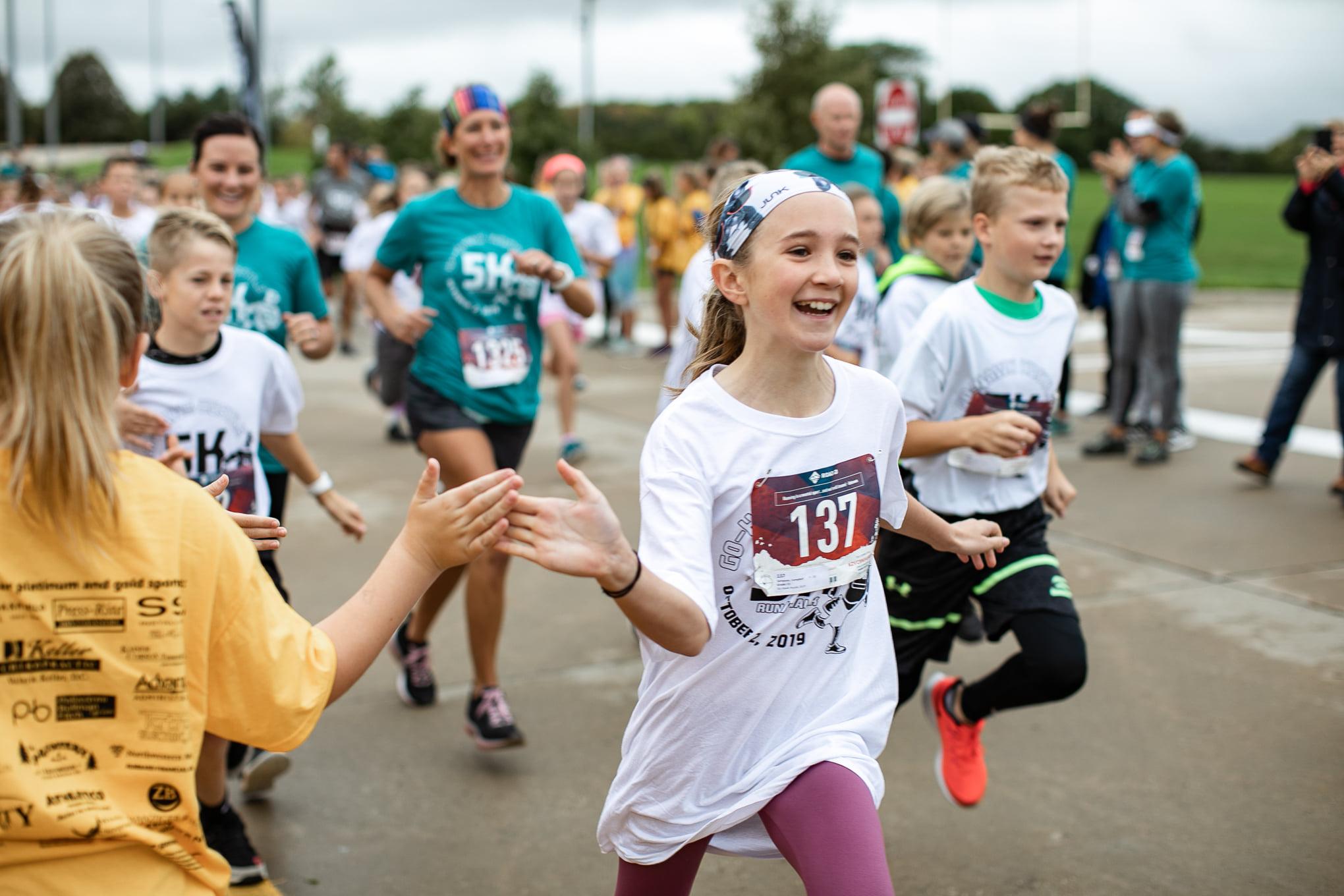 Middle School 5K run 2019-20