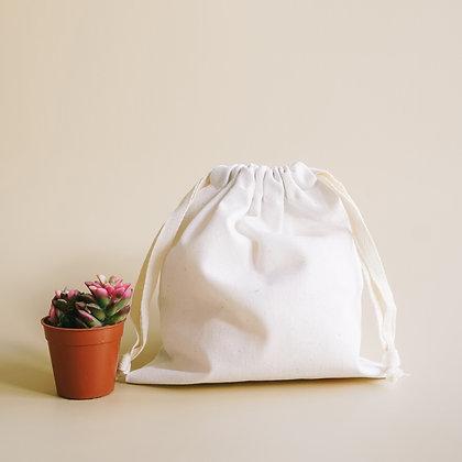 Drawstring bags ถุงผ้าหูรูด พร้อมสกรีน