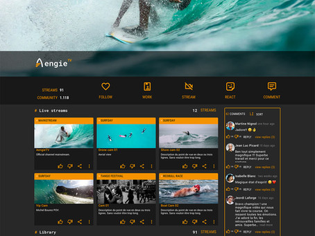 """With AEngie TV, the 3rd generation """"Social TV"""" arrives in Grenoble"""