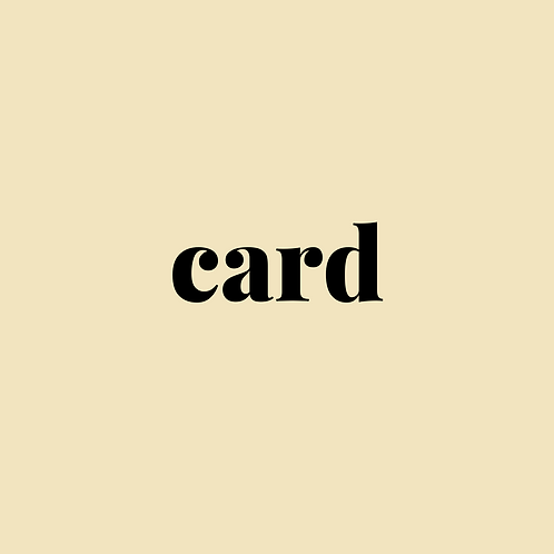 Haiku cards x4