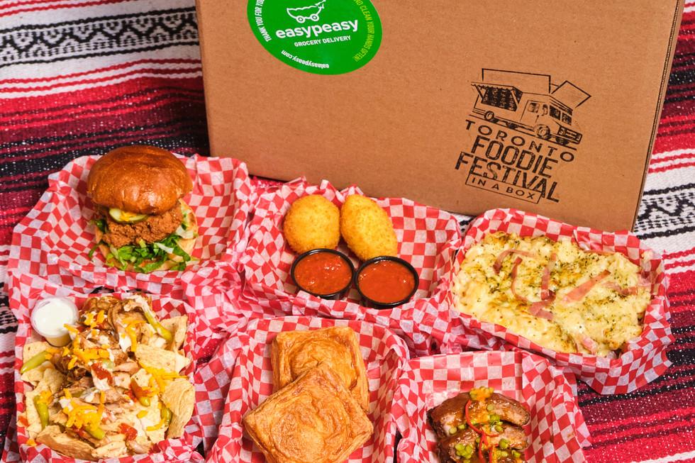 TORONTO FOODIE FESTIVAL BOX