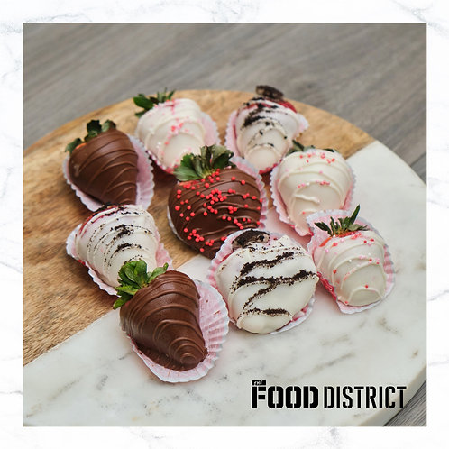 CHOCOLATE DIPPED STRAWBERRIES BY LGU BAKERY