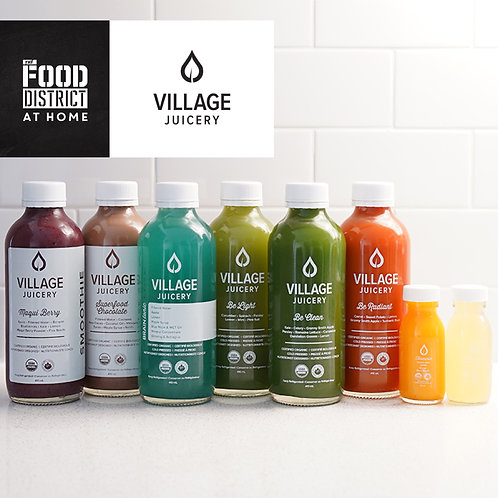 1-DAY CLEANSE BY VILLAGE JUICERY