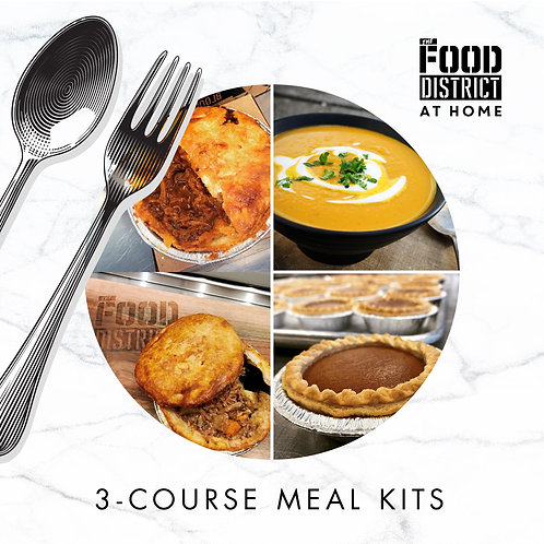 THE WINTER COZY 3-COURSE MEAL KIT BY THE FOOD DISTRICT