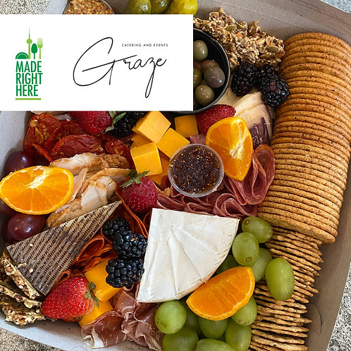 CHARCUTERIE BOXES BY GRAZE