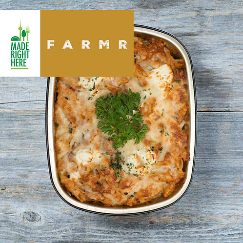 BAKED PENNE BOLOGNESE BY FARMR