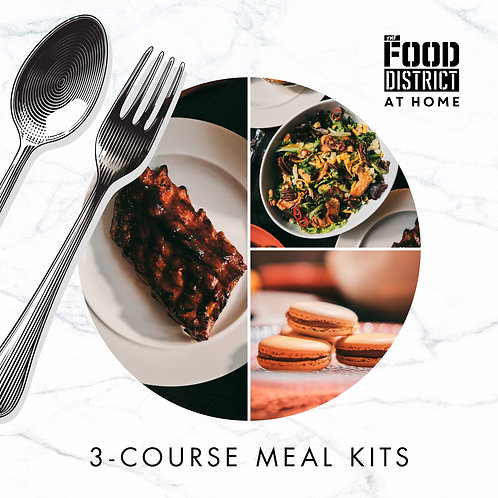 THE RUSTIC 3-COURSE MEAL KIT BY THE FOOD DISTRICT