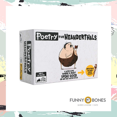 POETRY FOR NEANDERTHALS BY FUNNY BONES INC.