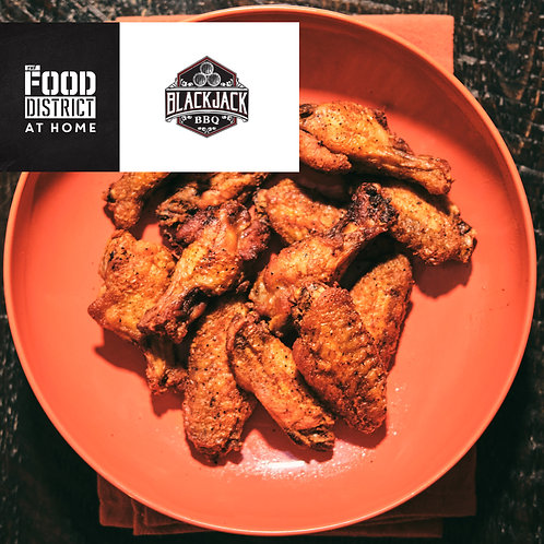 SMOKED CHICKEN WINGS BY BLACKJACK BBQ