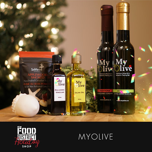 HOLIDAY PANTRY ESSENTIALS BY MYOLIVE