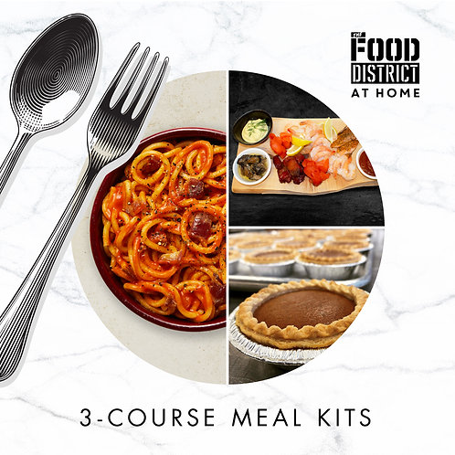 BY THE SEA 3-COURSE MEAL KIT BY THE FOOD DISTRICT