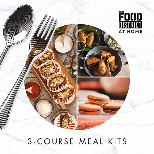 THE FIESTA 3-COURSE MEAL KIT BY THE FOOD DISTRICT