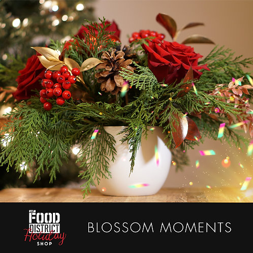 HOLIDAY ARRANGEMENT BY BLOSSOM MOMENTS