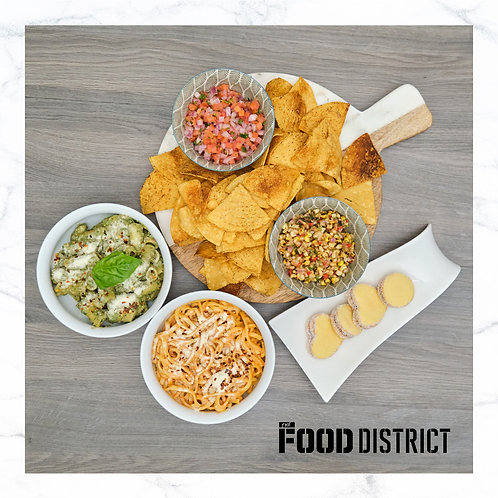 VEGETARIAN FEAST BY THE FOOD DISTRICT