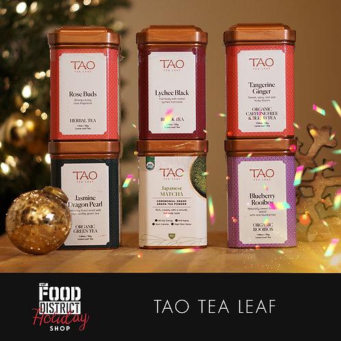 TEA LEAF TIN SET BY TAO TEA LEAF