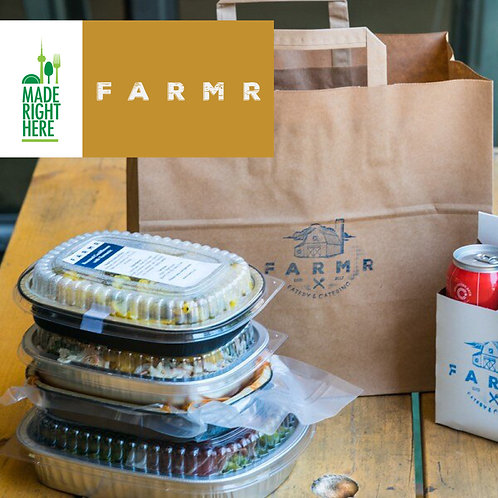 4 CHEF PREPARED MEALS BY FARMR