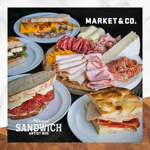 SANDWICH ARTIST BOX BY MARKET & CO.