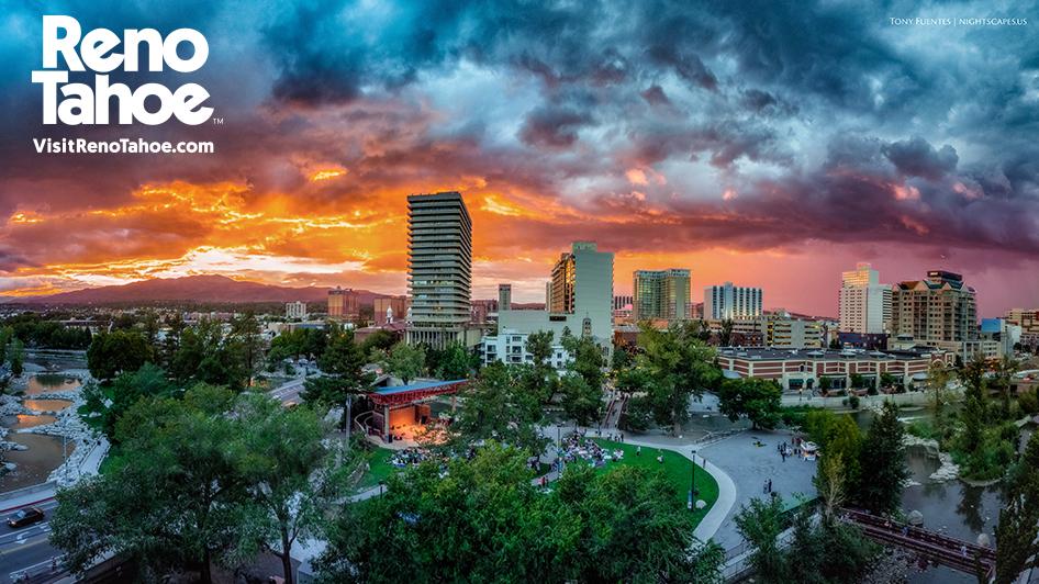 Skyline Sunset by Tony Fuentes