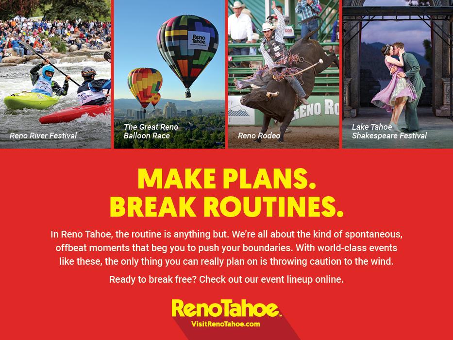 Make Plans. Break Routines. RSCVA.