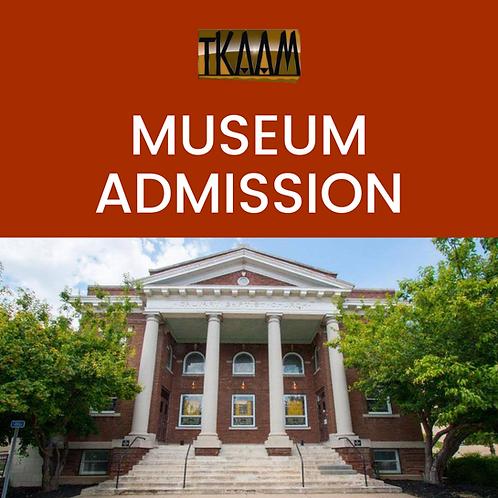 MUSEUM ADMISSON