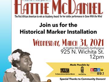 TKAAM Celebrates Oscar-Winning Actress Hattie McDaniel with Historical Marker