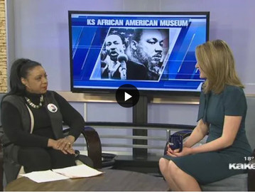 """""""OUR HERITAGE, OUR HOPE"""" AN MLK DAY 2020 CELEBRATION WITH THE KANSAS AFRICAN AMERICAN MUSEUM"""