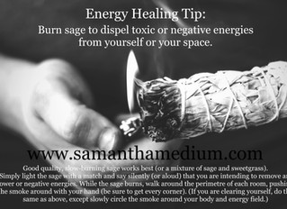 Energy Healing Tip: Space Clearing