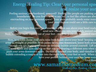 Energy Healing Tip: Your Aura
