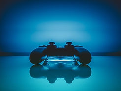 Video Oyun Konsolu Mavi