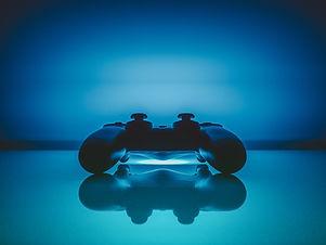 Consola de videojuegos Azul