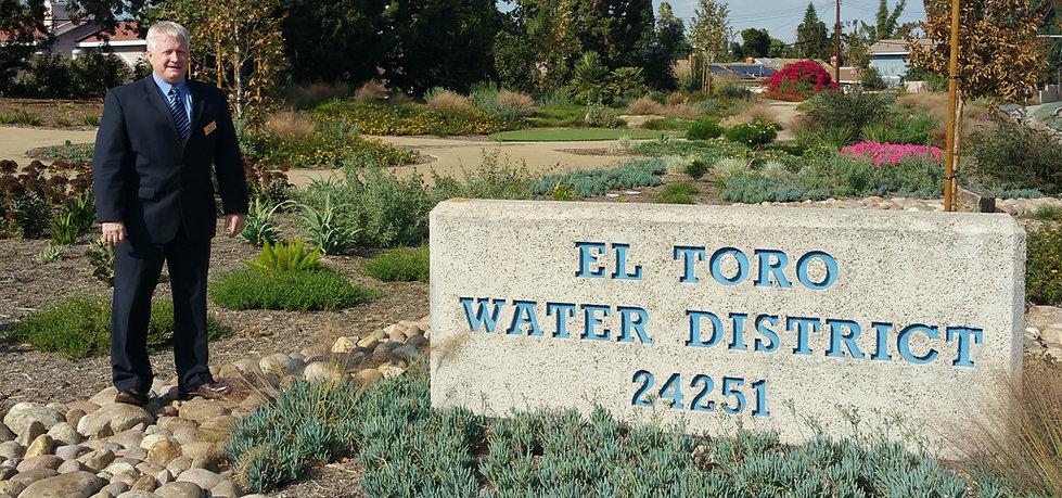 El Toro Water District Director Mark Monin