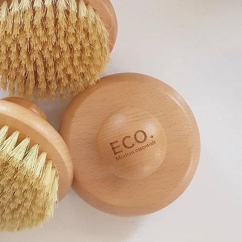 ECO. Vegan Dry Body Brush Round
