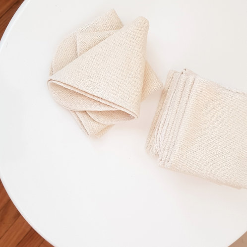 Hemp + Organic Cotton Face Washer