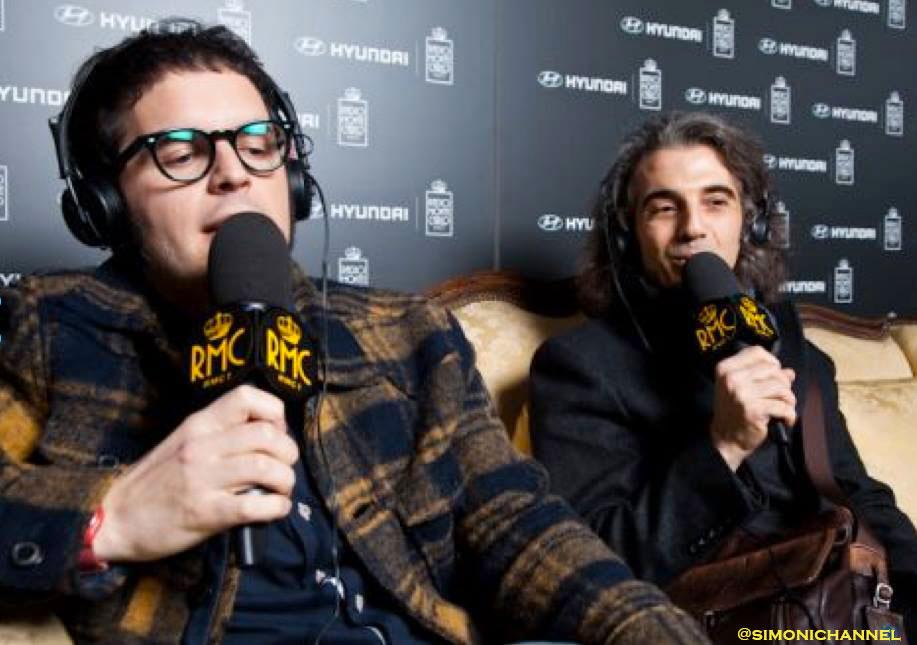 Paolo Simoni e Marco Sabiu