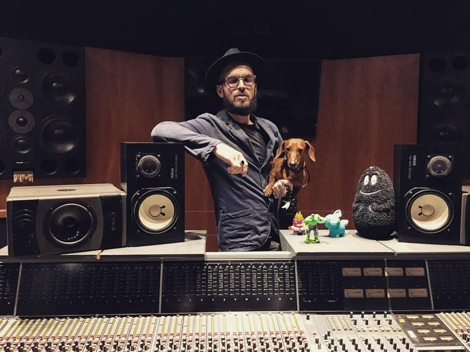 Paolo Simoni in studio