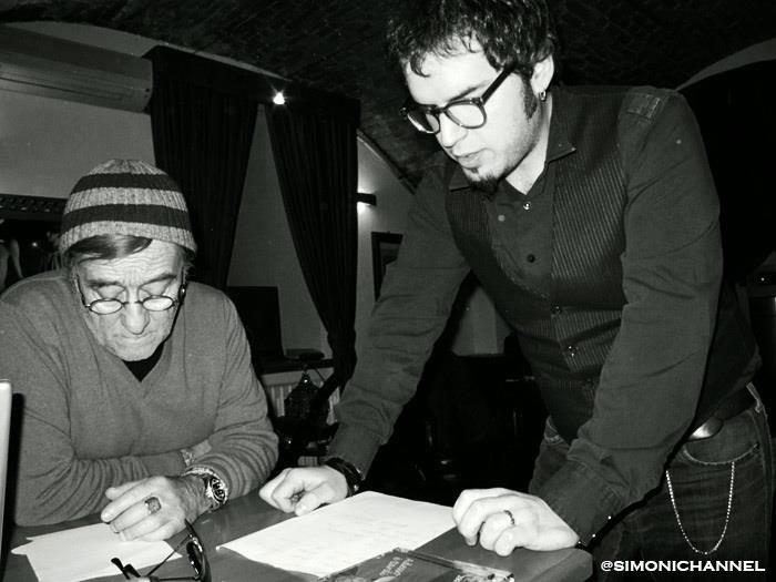 Paolo Simoni e Lucio Dalla